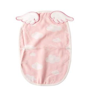 天使の羽 汗取りパッド(ピンク雲)