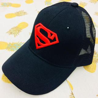 スーパーマン メッシュキャップ キッズキャップ