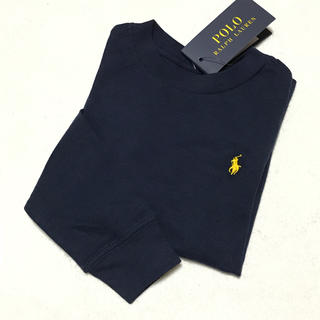 新品✨ロングスリーブ Tシャツ / ネイビー 3T/100