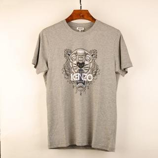 ケンゾー(KENZO)のケンゾーTシャツXL灰色03kenzo半袖 グレー タイガープリント メンズ新品(Tシャツ/カットソー(半袖/袖なし))
