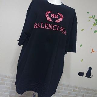 Balenciaga - バレンシアガ BALENCIAGA 新品 本物 S ロゴ BIG Tシャツ