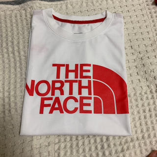 THE NORTH FACE - Tシャツ 赤