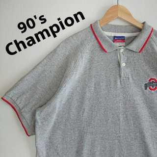 チャンピオン(Champion)の662 90s チャンピオン ポロシャツ ビッグサイズ XL ラグラン(ポロシャツ)