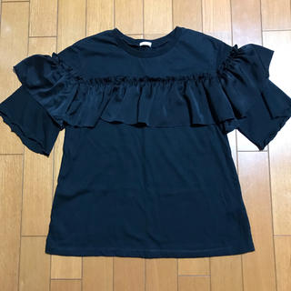 GU - フリルカットソー Tシャツ 女の子 150