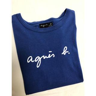 agnes b. - 最終価格 アニエス・ベー 半袖 ロゴTシャツ T2 MHL agnes b.