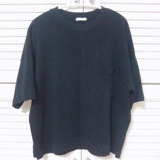 GU - ジーユー 黒Tシャツ 綿100%