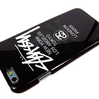 ステューシー(STUSSY)のiPhone6ケース STUSSYロゴ(モバイルケース/カバー)