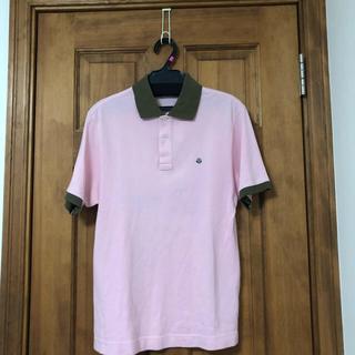 MONCLER - Moncler ピンクポロシャツ