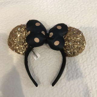 Disney - ディズニーランド パリ ミニー カチューシャ ゴールド