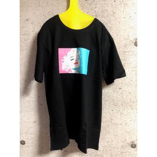 カラフルマリリンTシャツ 黒
