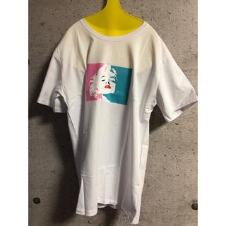 カラフルマリリンTシャツ 白
