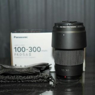Panasonic - Panasonic 100-300mm F4.0-5.6 II 保証残あり