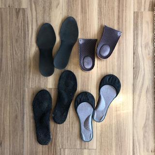 靴 スニーカー中敷き シークレットインソール  まとめ売りパンプス Sサイズ