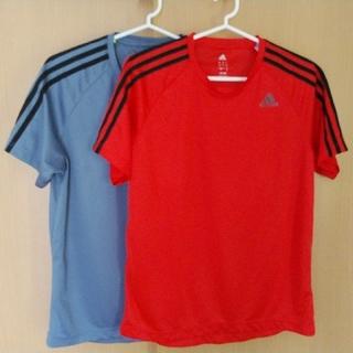 アディダス(adidas)のadidas半袖Tシャツ…2着(Tシャツ/カットソー(半袖/袖なし))