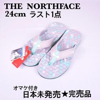 THE NORTH FACE - 日本未発売 海外限定 ザノースフェイス ホワイトレーベル  サンダル オマケ付き