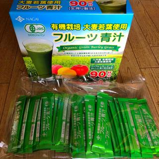コストコ(コストコ)のコストコNAGAI有機栽培大麦若葉使用フルーツ青汁60包(青汁/ケール加工食品)