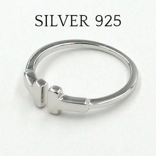 T字型 リング s925 シルバー925 SILVER(リング(指輪))