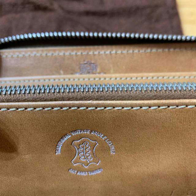 WHITEHOUSE COX(ホワイトハウスコックス)のホワイトハウスコックス 長財布 ヴィンテージブライドルレザー   ラウンド メンズのファッション小物(長財布)の商品写真