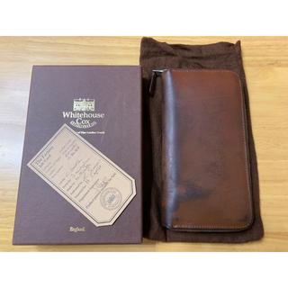 ホワイトハウスコックス(WHITEHOUSE COX)のホワイトハウスコックス 長財布 ヴィンテージブライドルレザー   ラウンド(長財布)