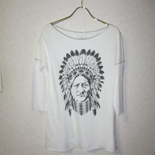 アパルトモンドゥーズィエムクラス(L'Appartement DEUXIEME CLASSE)のSwildens 別注インディアンTシャツ(Tシャツ(長袖/七分))