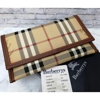 BURBERRY - ☆新品未使用!☆Burberry バーバリーズ財布 ノバチェック 付属品有