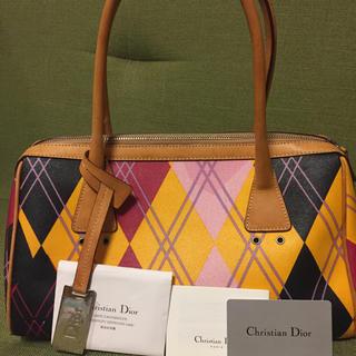 クリスチャンディオール(Christian Dior)のディオール  マルチカラー ショルダーハンドバッグ(ハンドバッグ)