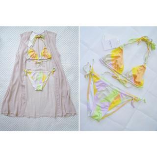 ユナイテッドアローズ(UNITED ARROWS)の新品4万2千円 イタリア製 ビキニ DELFINA & ビーチサイド ドレス(水着)