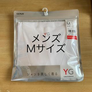 GUNZE - GUNZEVネックTシャツ Mサイズ