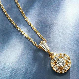agete - アガットベルシオラダイヤモンドネックレス