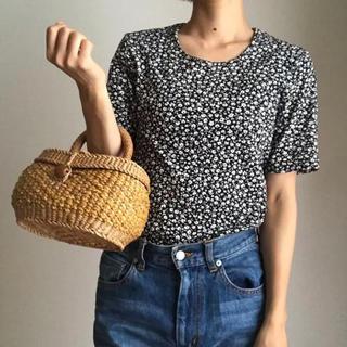 Lochie - 古着 vintage 花柄Tシャツ