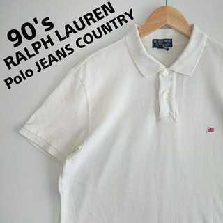 Ralph Lauren - 661 90s ポロジーンズカントリー ポロシャツ 90年代 ラルフローレン