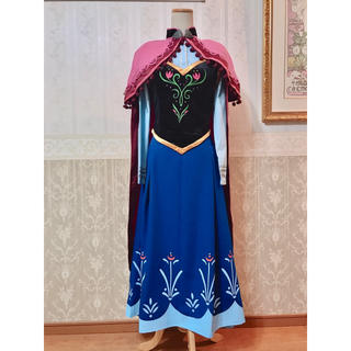 ディズニー(Disney)の❁Dハロ❁アナと雪の女王❁アナ風衣装デラックス版❁新品(その他ドレス)