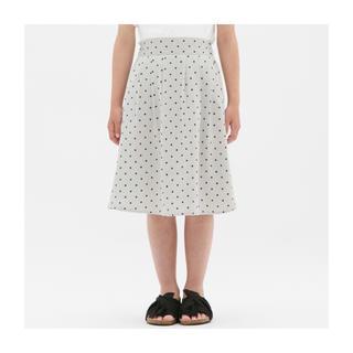 ジーユー(GU)のGU GIRLSドットプリントスカート(スカート)