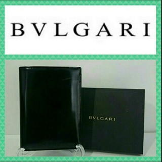 BVLGARI - BVLGARI 札入れ 黒色 箱付き
