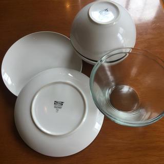 IKEA - IKEA/食器/白/サラダボール/プレート
