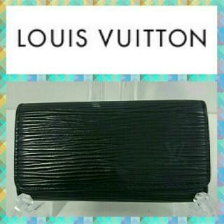 LOUIS VUITTON - ルイヴィトン キーケース M63822 エピ 黒色