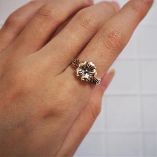 【19号】Hibiscus Ring《SILVER925》18380042 (リング(指輪))