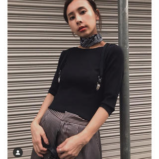 Ameri VINTAGE - CONNECT SUSPENDER KNIT アメリヴィンテージ