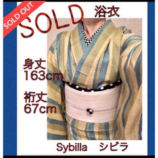 シビラ(Sybilla)の売れました❣️ 浴衣★ Sybilla   ロング   美品(浴衣)