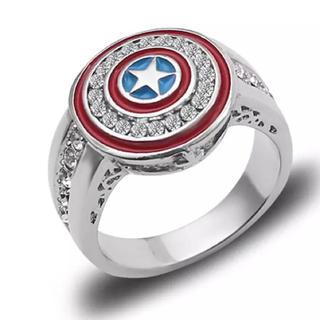 MARVEL キャプテンアメリカ シールド リング 指輪(リング(指輪))