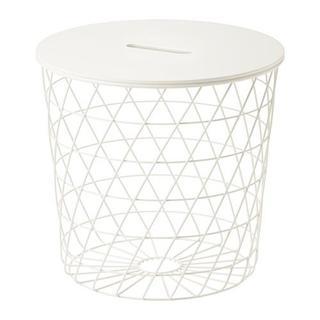 IKEA - 今だけ500円引き◆コーヒーテーブル リビングテーブル 収納付き, ホワイト