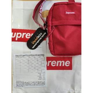 Supreme - supreme shoulderbag 18ss レッド