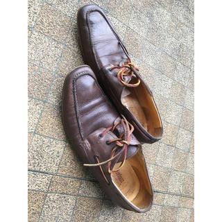革靴:シューズ:H2 Company:27センチ:メンズ:茶色(ドレス/ビジネス)