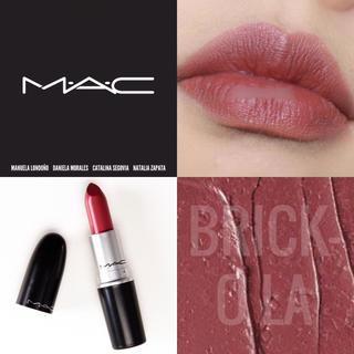 MAC - 【新品箱有】MAC アンプリファイドリップ ブリックオラ ブリック&ベリー♥