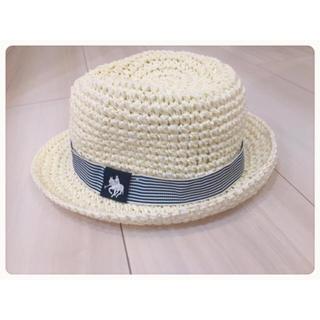 ポロラルフローレン(POLO RALPH LAUREN)のベビー❤︎帽子❤︎麦わら❤︎夏❤︎ポロ(帽子)