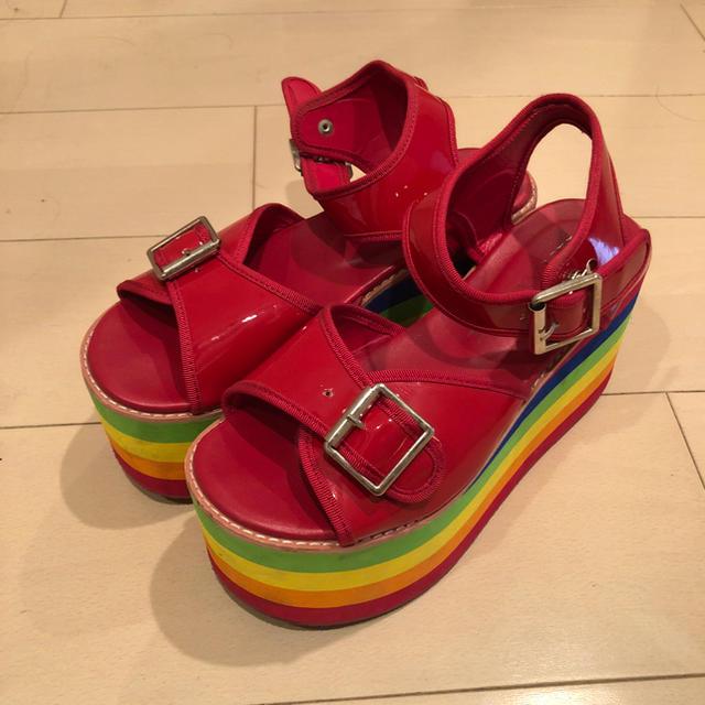 WEGO(ウィゴー)の厚底サンダル レディースの靴/シューズ(サンダル)の商品写真
