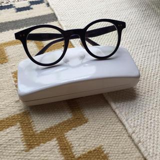 ビームス(BEAMS)のBEAMS サングラス ネイビー 伊達眼鏡(サングラス/メガネ)