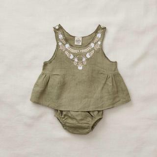 キャラメルベビー&チャイルド(Caramel baby&child )のApolina BESSIE LINEN TUNIC SET(タンクトップ/キャミソール)