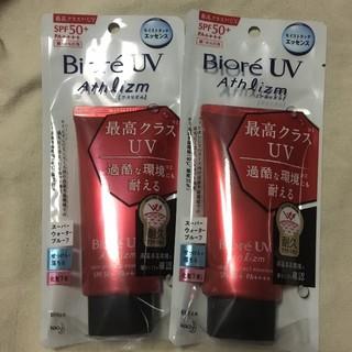 Biore - ビオレUVアスリズムスキンプロテクトエッセンス70g 2点