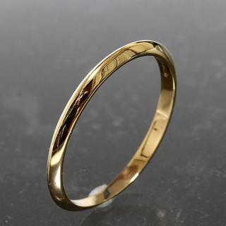 ティファニー(Tiffany & Co.)のティファニー TIFFANY&CO.シンプル リング 19号 K18YG 仕上済(リング(指輪))